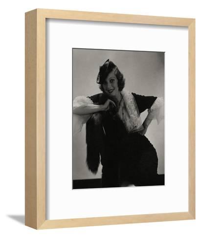 Vogue - July 1935-Edward Steichen-Framed Art Print