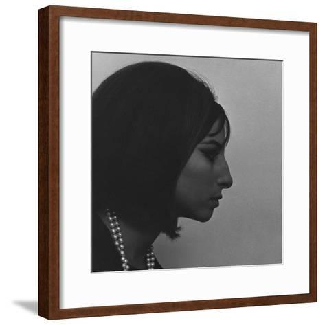 Vogue - March 1964 - Barbra Streisand-Cecil Beaton-Framed Art Print