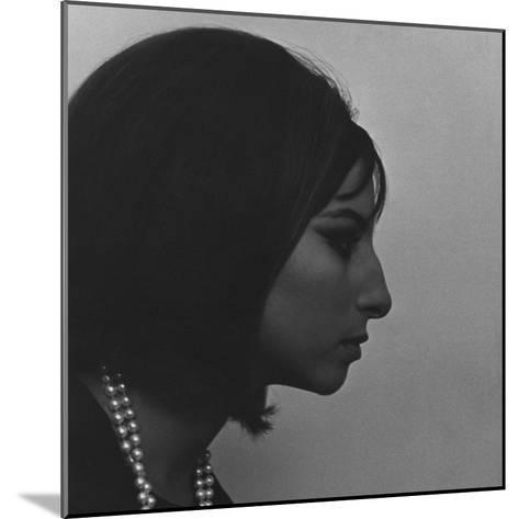 Vogue - March 1964 - Barbra Streisand-Cecil Beaton-Mounted Premium Photographic Print