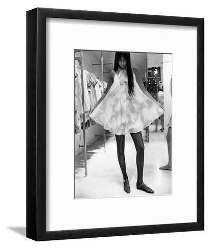 Vogue - August 1967-Arnaud de Rosnay-Framed Art Print