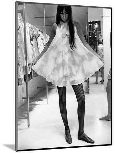 Vogue - August 1967-Arnaud de Rosnay-Mounted Premium Photographic Print