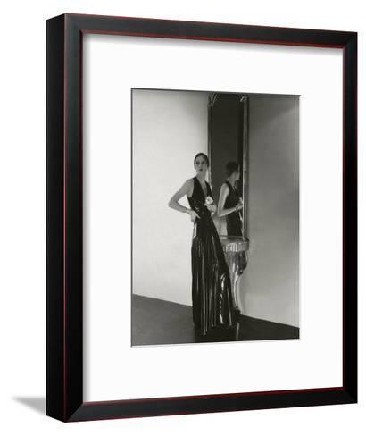 Vogue - October 1932-George Hoyningen-Huen?-Framed Art Print