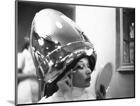 Vogue - June 1949 - Under the Dryer-Constantin Joff?-Mounted Premium Photographic Print