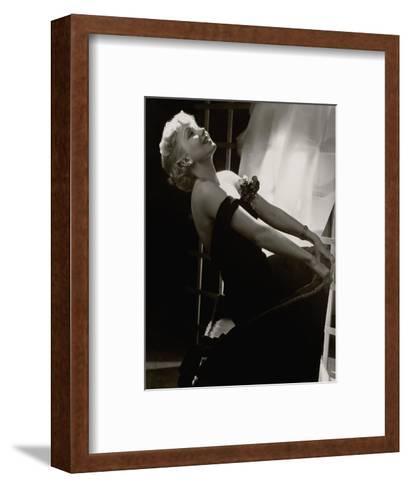 Vanity Fair - July 1935-Lusha Nelson-Framed Art Print