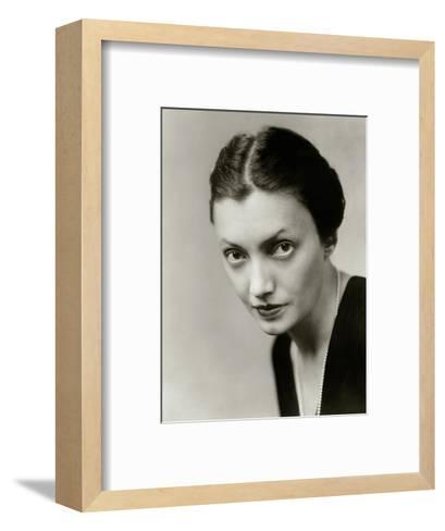 Vanity Fair - October 1931-Florence Vandamm-Framed Art Print