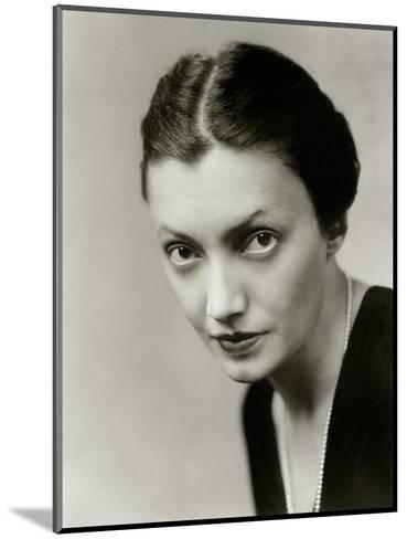 Vanity Fair - October 1931-Florence Vandamm-Mounted Premium Photographic Print