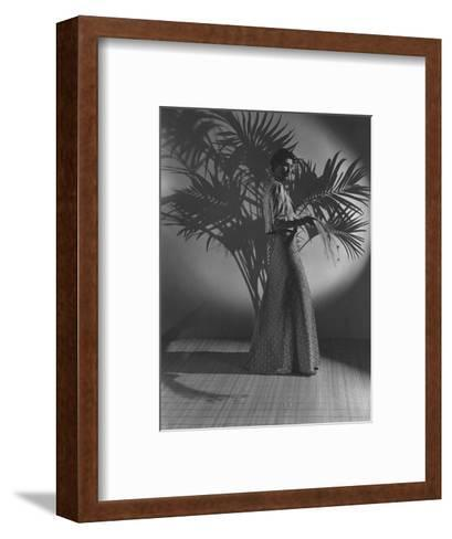 Vogue - October 1936-John Rawlings-Framed Art Print