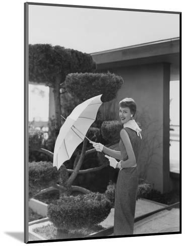 Vogue - April 1954-Karen Radkai-Mounted Premium Photographic Print