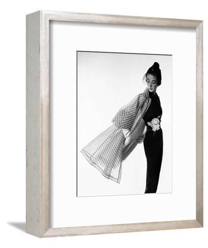Vogue - April 1950-Cecil Beaton-Framed Art Print