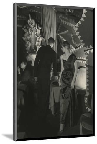 Vogue - October 1949-Donald Honeyman-Mounted Premium Photographic Print