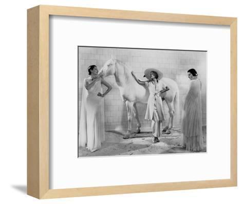 Vogue - January 1936-Edward Steichen-Framed Art Print