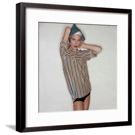 Vogue - November 1954-Clifford Coffin-Framed Art Print