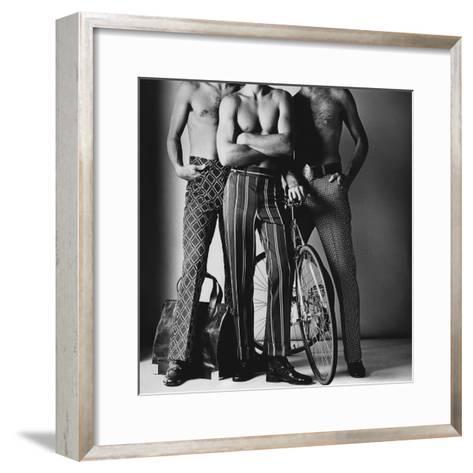 GQ - November 1971-Ken Haak-Framed Art Print