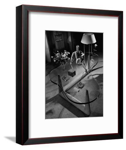 House & Garden - April 1945-Andr? Kert?sz-Framed Art Print