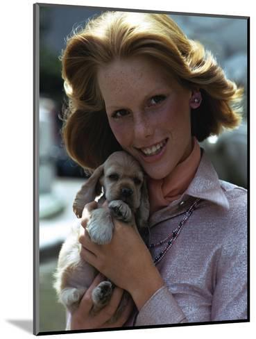 Glamour - November 1973-William Connors-Mounted Premium Photographic Print
