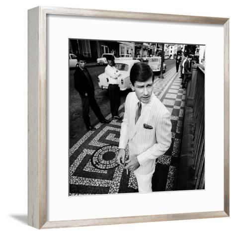 GQ - June 1967-Leonard Nones-Framed Art Print