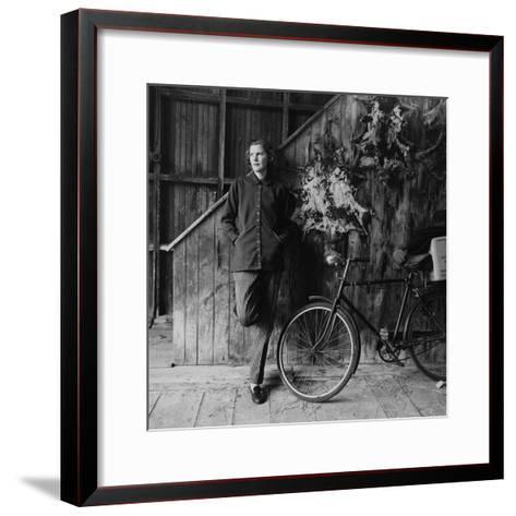 Vogue - May 1952-Richard Rutledge-Framed Art Print