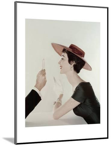 Vogue - April 1954-John Rawlings-Mounted Premium Photographic Print