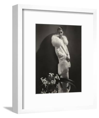Vogue - April 1929-Edward Steichen-Framed Art Print