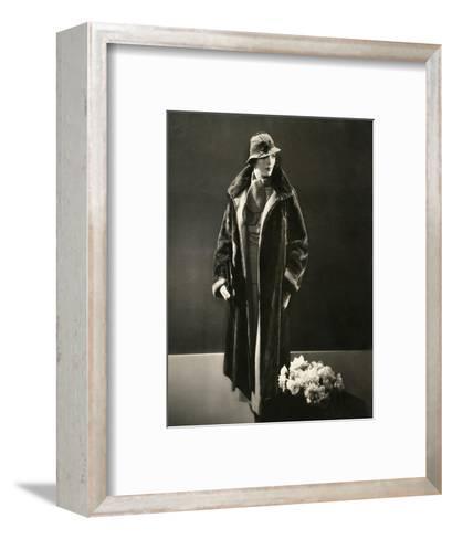 Vogue - August 1933-Edward Steichen-Framed Art Print