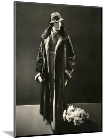 Vogue - August 1933-Edward Steichen-Mounted Premium Photographic Print