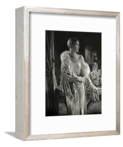 Vogue - September 1928 - Lee Miller Wears Jay Thorpe-Edward Steichen-Framed Art Print