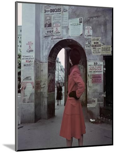 Vogue - October 1946-John Rawlings-Mounted Premium Photographic Print