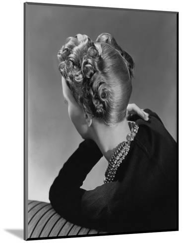Vogue - November 1938-John Rawlings-Mounted Premium Photographic Print