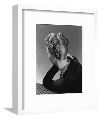 Vogue - November 1938-John Rawlings-Framed Art Print
