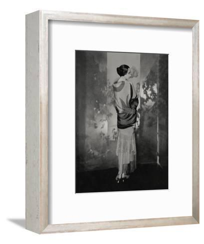 Vogue - December 1924-Edward Steichen-Framed Art Print