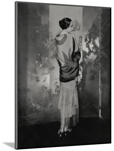 Vogue - December 1924-Edward Steichen-Mounted Premium Photographic Print