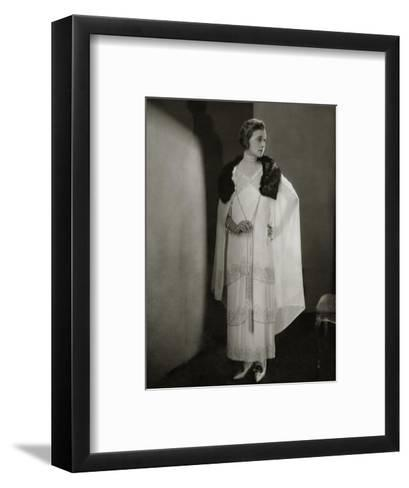 Vogue - December 1924-Edward Steichen-Framed Art Print