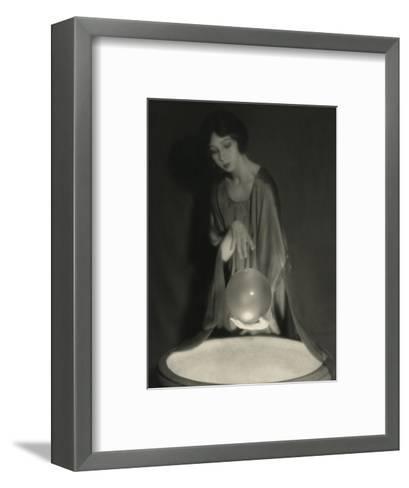 Vanity Fair - February 1921-Alexander Milne-Framed Art Print