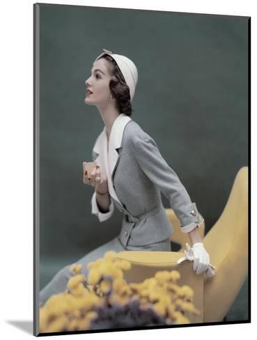 Vogue - March 1957-Karen Radkai-Mounted Premium Photographic Print