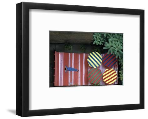 House & Garden - April 1974-James Mathews-Framed Art Print
