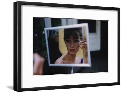 Glamour - July 1960-Karen Radkai-Framed Art Print