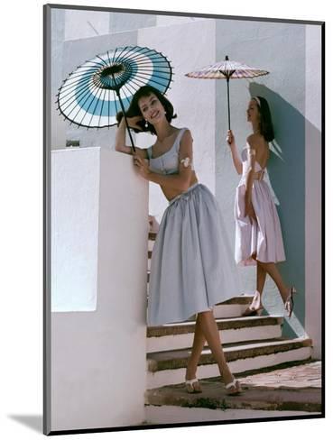 Glamour - April 1960-Frances Mclaughlin-Gill-Mounted Premium Photographic Print