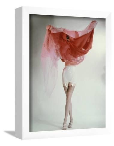Vogue - February 1953-Erwin Blumenfeld-Framed Art Print