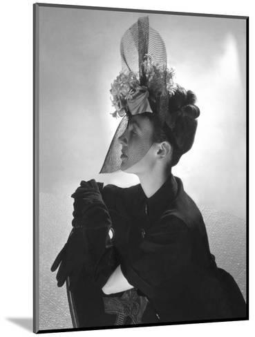 Vogue - June 1939-Horst P. Horst-Mounted Premium Photographic Print