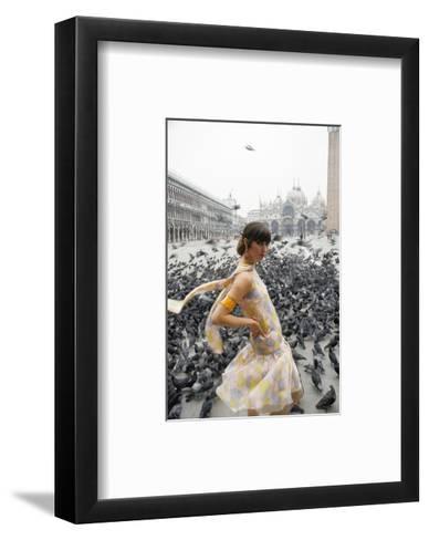Mademoiselle - February 1966-George Barkentin-Framed Art Print
