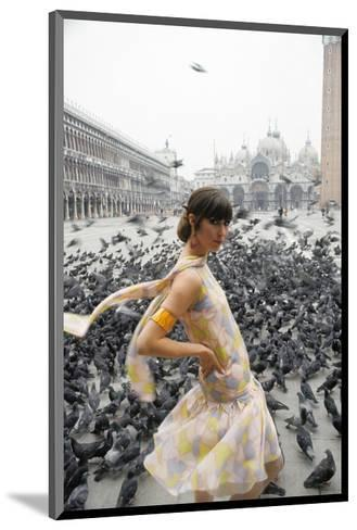 Mademoiselle - February 1966-George Barkentin-Mounted Premium Photographic Print
