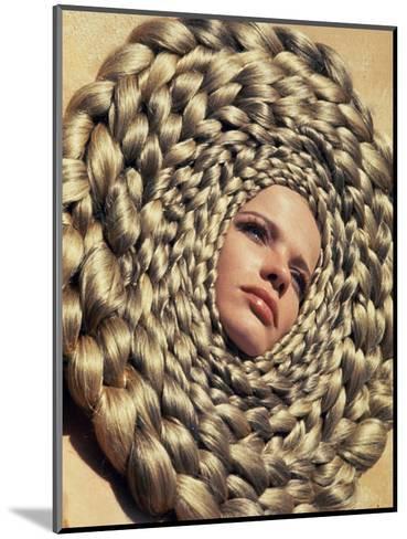 Vogue - April 1967-Franco Rubartelli-Mounted Premium Photographic Print
