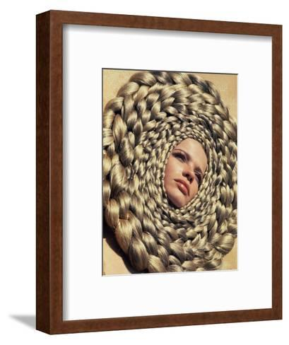 Vogue - April 1967-Franco Rubartelli-Framed Art Print