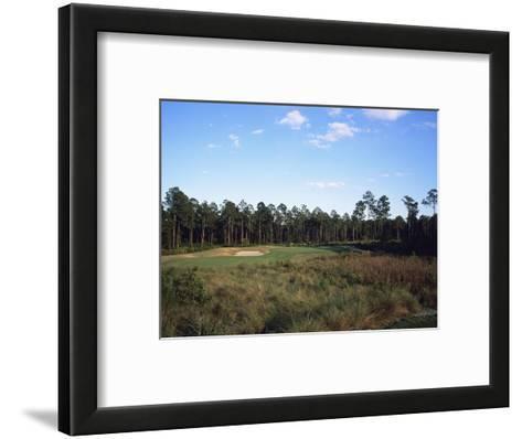 LPGA Legends Golf Course, Hole 4-Stephen Szurlej-Framed Art Print