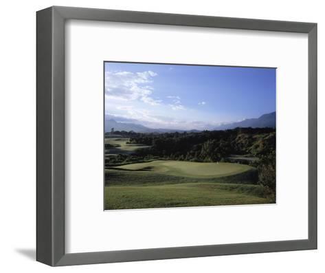 Princeville Golf CLub The Prince Course, Hole 14-Stephen Szurlej-Framed Art Print