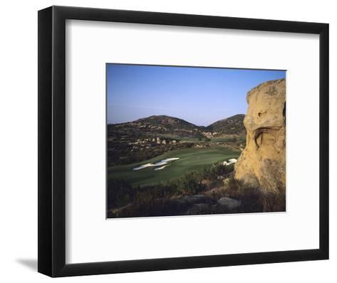 Shady Canyon Golf Course, Hole 11-Stephen Szurlej-Framed Art Print