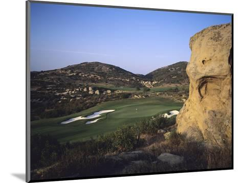 Shady Canyon Golf Course, Hole 11-Stephen Szurlej-Mounted Premium Photographic Print