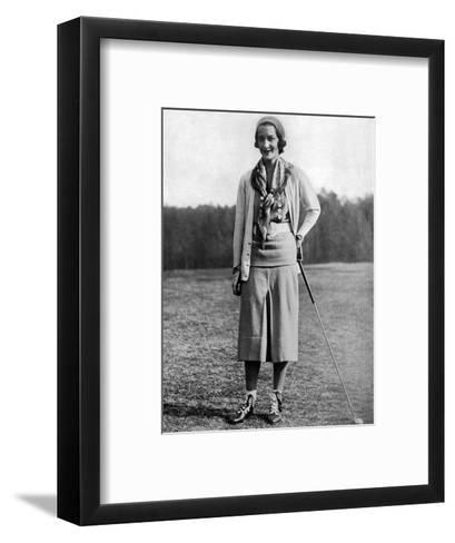 Sybil Whigham, The American Golfer, May 1931--Framed Art Print