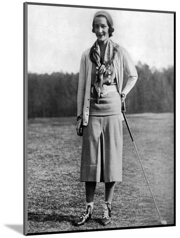 Sybil Whigham, The American Golfer, May 1931--Mounted Premium Photographic Print