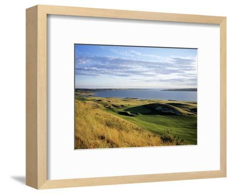 Sutton Bay Golf Club, Hole 15-Stephen Szurlej-Framed Art Print